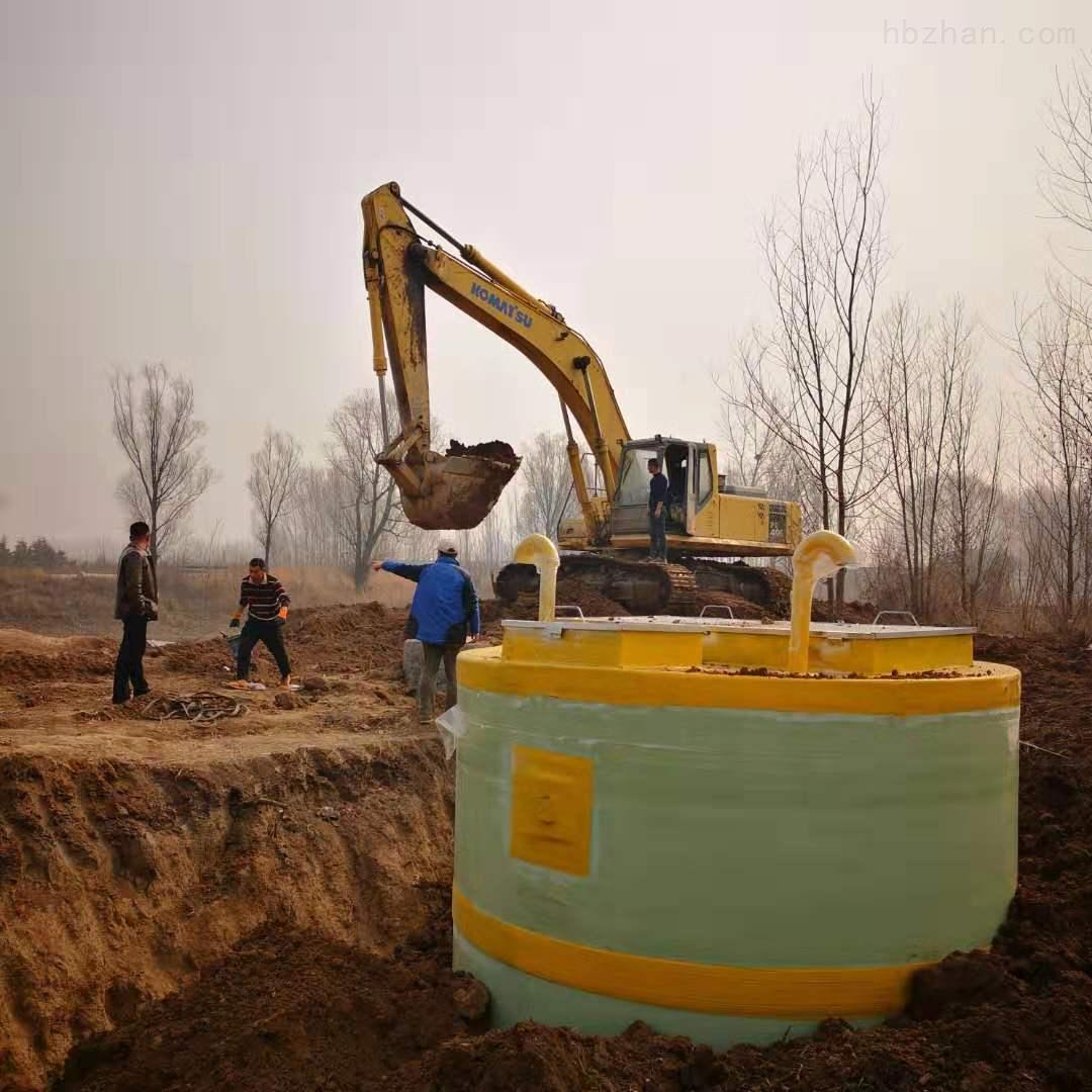 甘南一体化预制泵站设备安装步骤至通