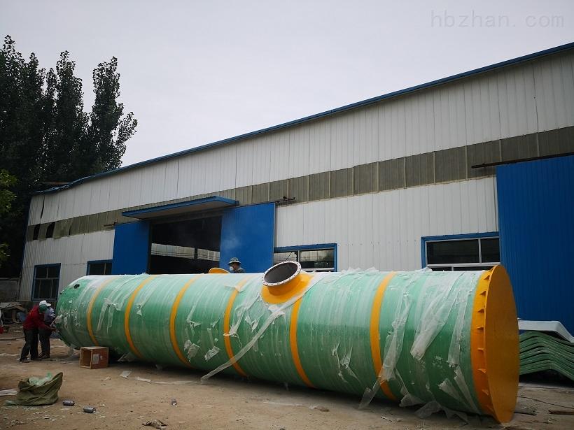 西安市政管网一体化预制泵站技术参数环保