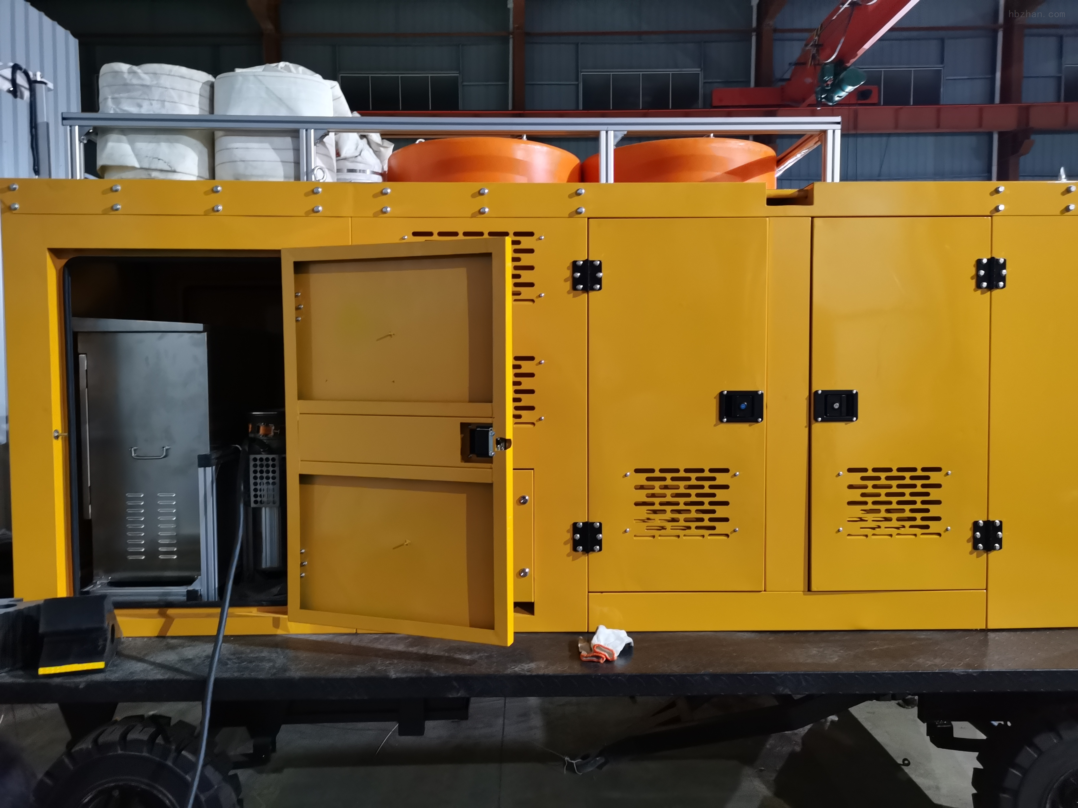 便携式潜水泵排水车