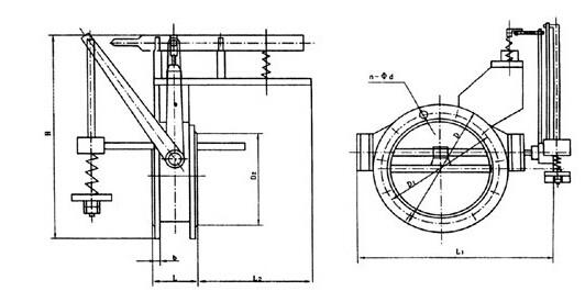 电磁式煤气紧急切断阀图
