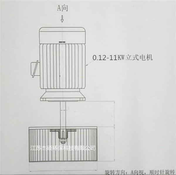 烘箱热风循环风机 烘箱长轴电机 长轴风机示例图6