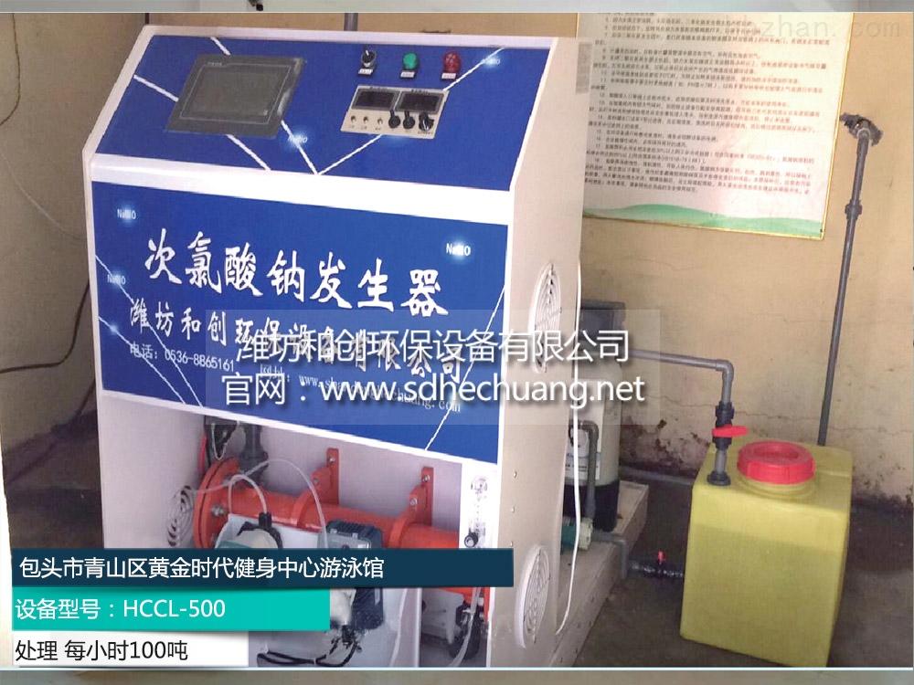 滨州专业生产简易次氯酸钠发生器消毒设备