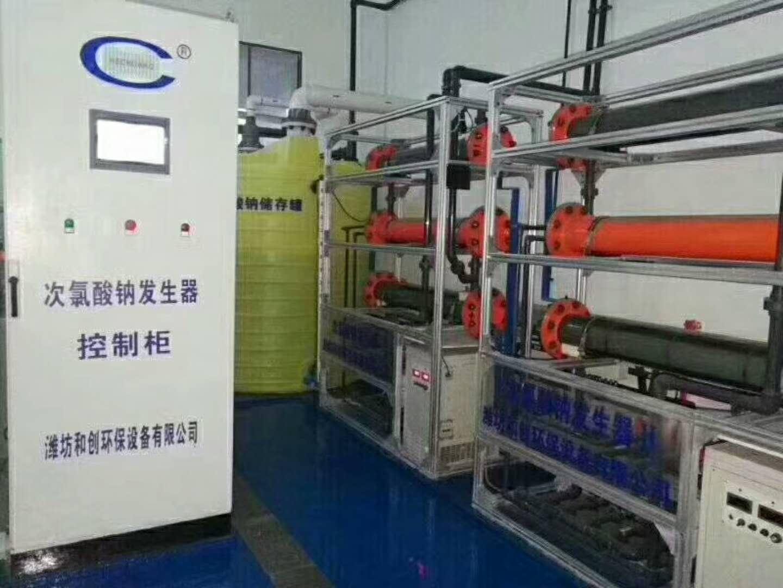驻马店智能电解盐水次氯酸钠发生器消毒设备