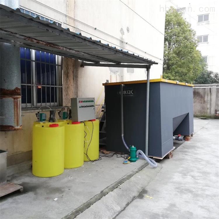 丽水口腔门诊污水处理设备安装说明