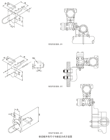 电容式压力变送器,电容式压力变送器厂家价格型号选型示例图9