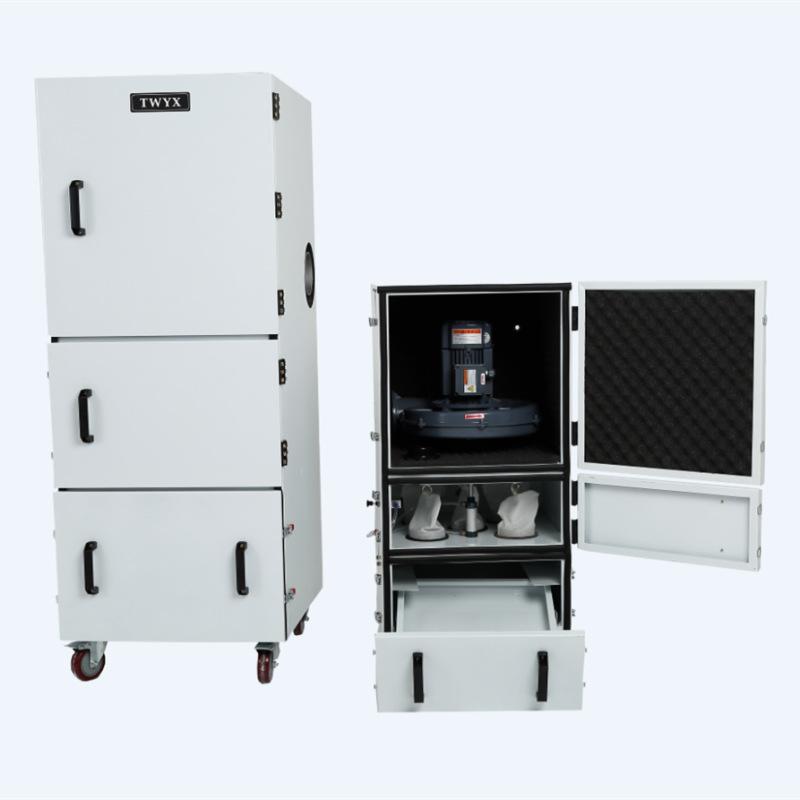 工业磨床吸尘器 1.5KW磨床粉尘集尘机 高效率磨床集尘器厂家直销示例图6