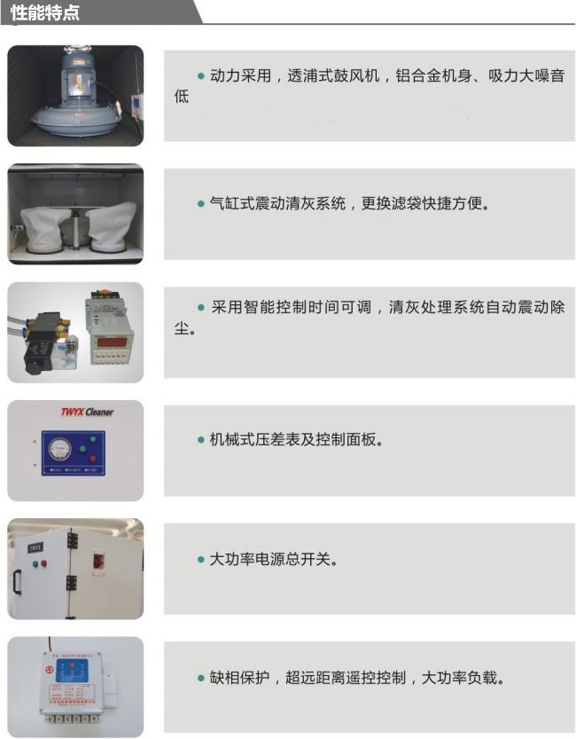 工业磨床吸尘器 1.5KW磨床粉尘集尘机 高效率磨床集尘器厂家直销示例图10