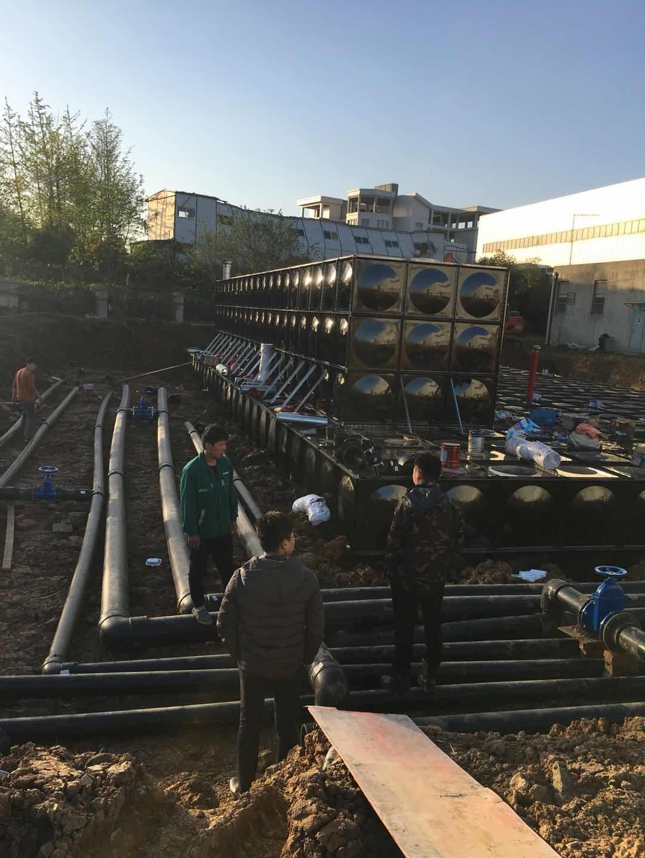 海东市有效容积270m3装配式BDF成品地下水池
