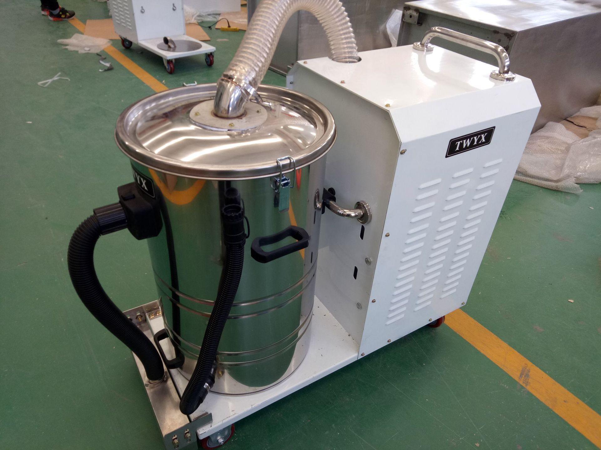 厂家吸石墨粉尘吸尘器 移动式脉冲反吹工业吸尘器 铝屑吸尘器示例图21