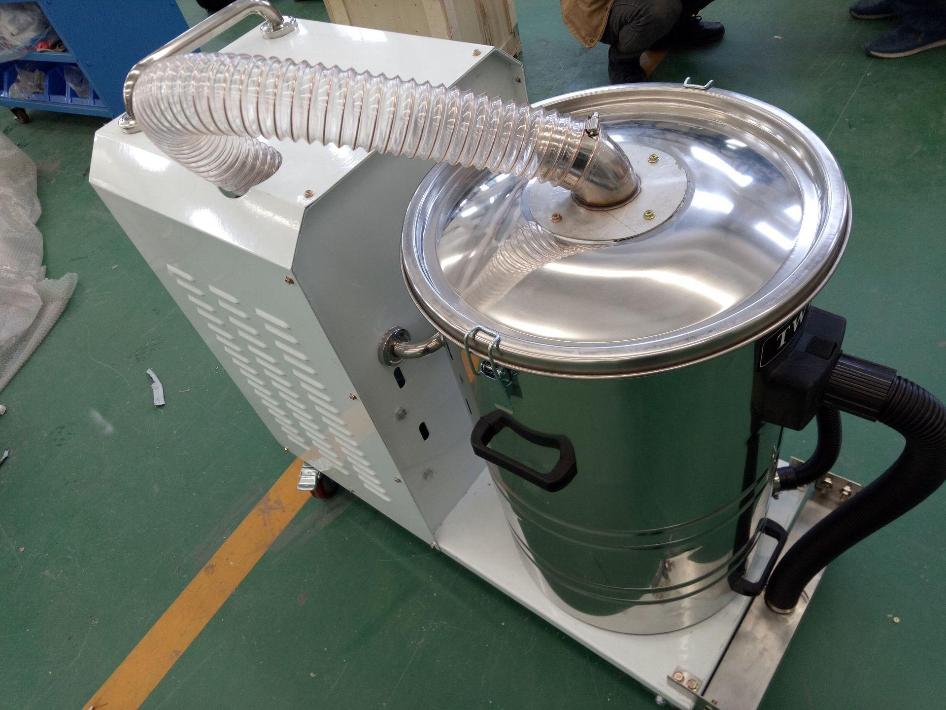 厂家吸石墨粉尘吸尘器 移动式脉冲反吹工业吸尘器 铝屑吸尘器示例图22