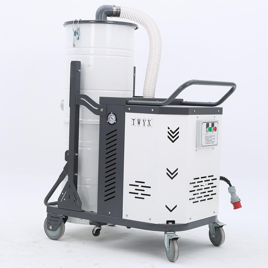 厂家吸石墨粉尘吸尘器 移动式脉冲反吹工业吸尘器 铝屑吸尘器示例图24