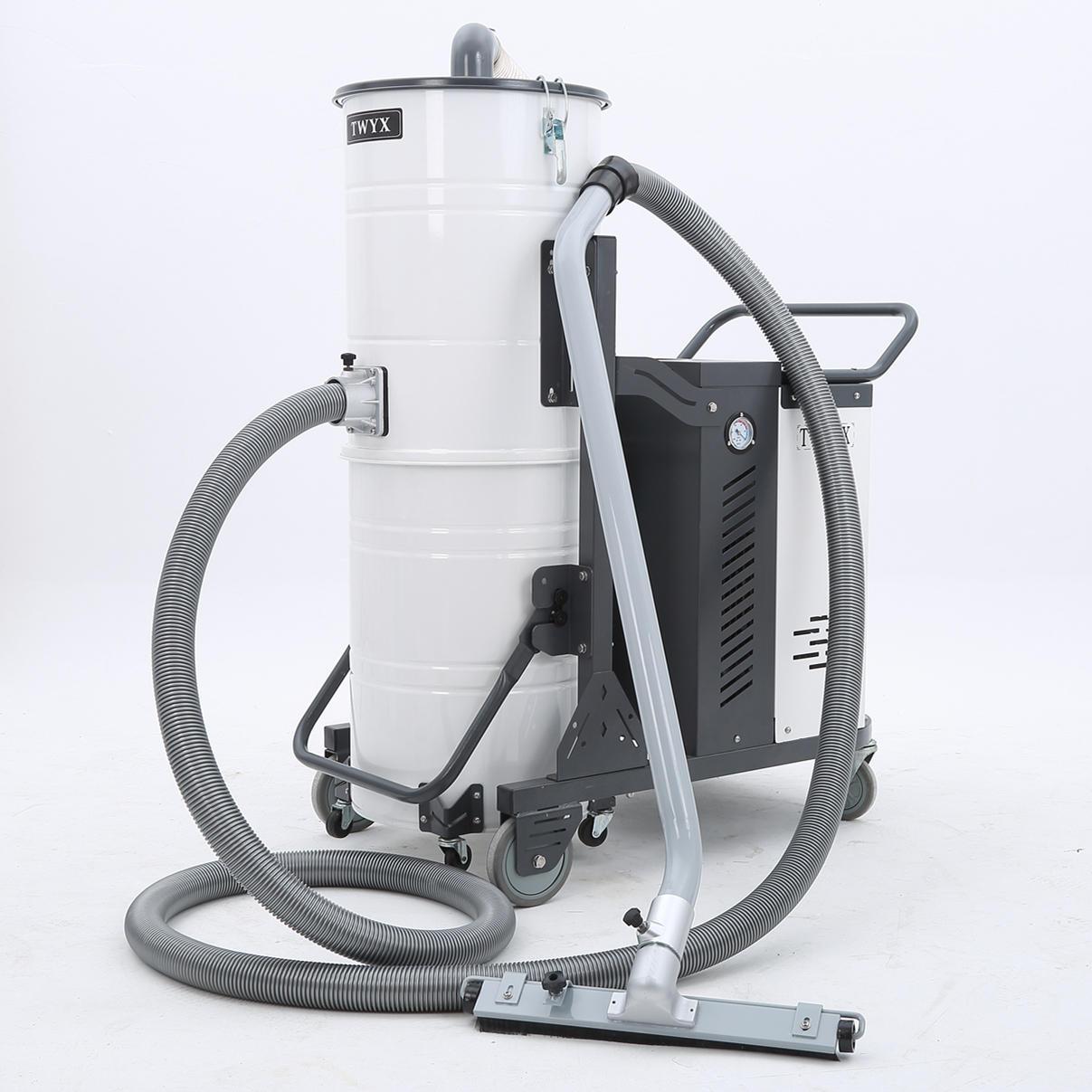 厂家吸石墨粉尘吸尘器 移动式脉冲反吹工业吸尘器 铝屑吸尘器示例图25