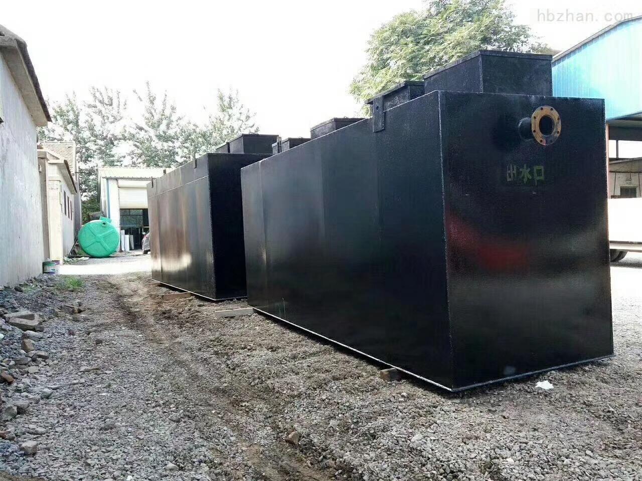 江西景德镇地埋一体化污水处理设备工艺特点
