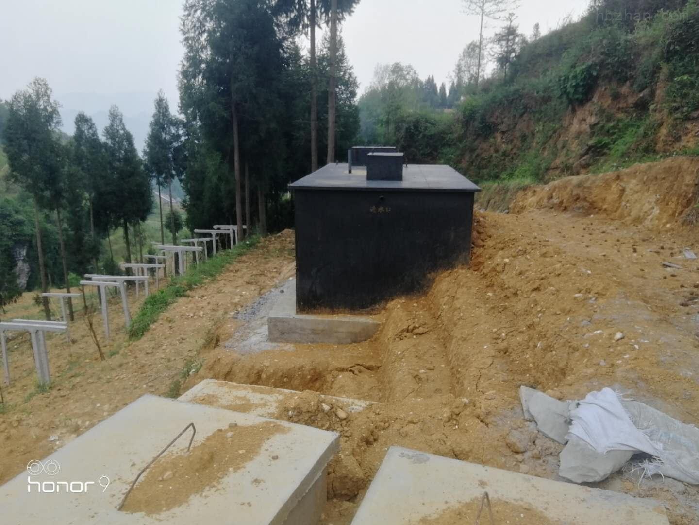 北京地埋一体化污水处理设备工艺说明