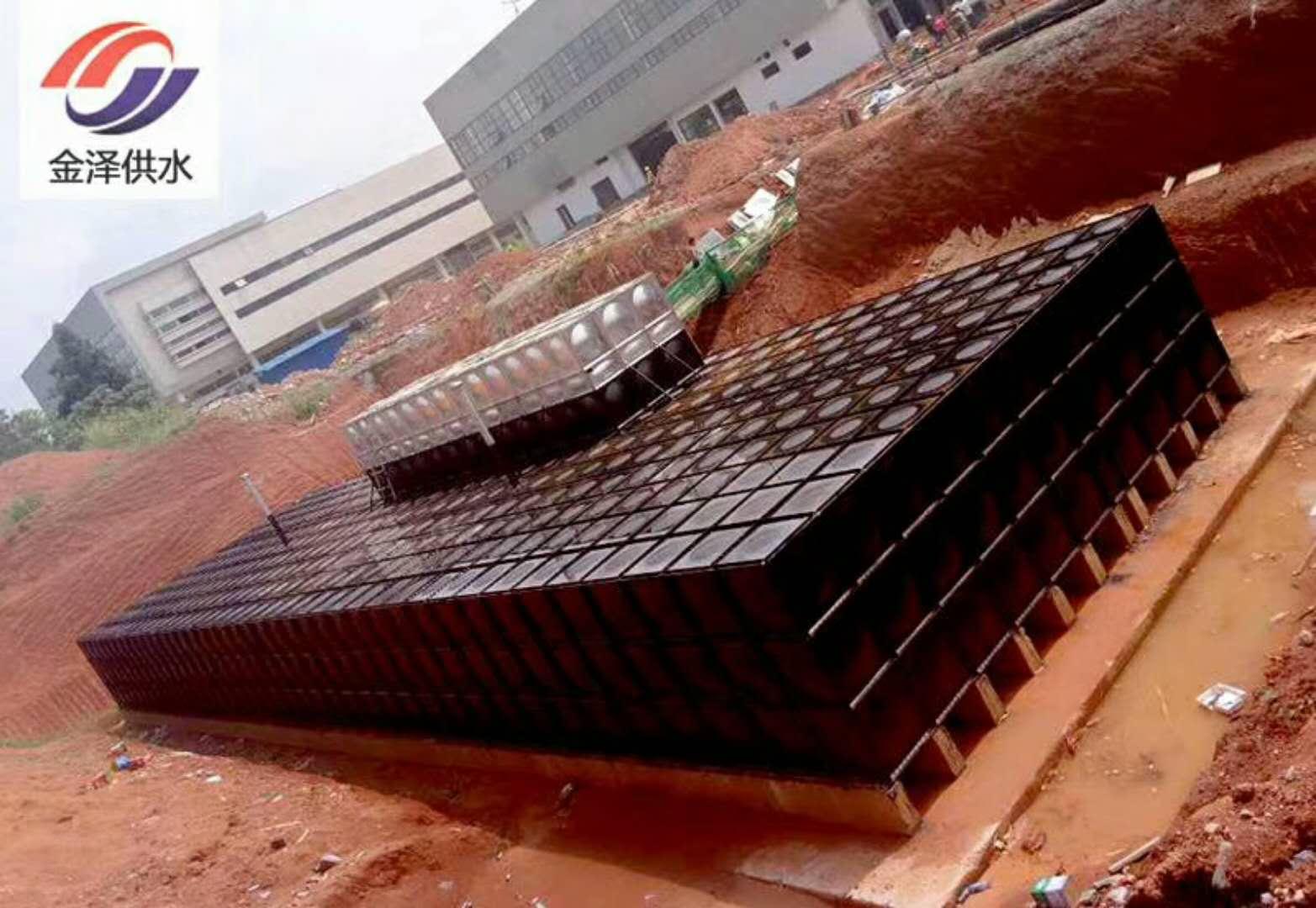 抗浮地埋箱泵一体化含消防水箱CCCF认证价格