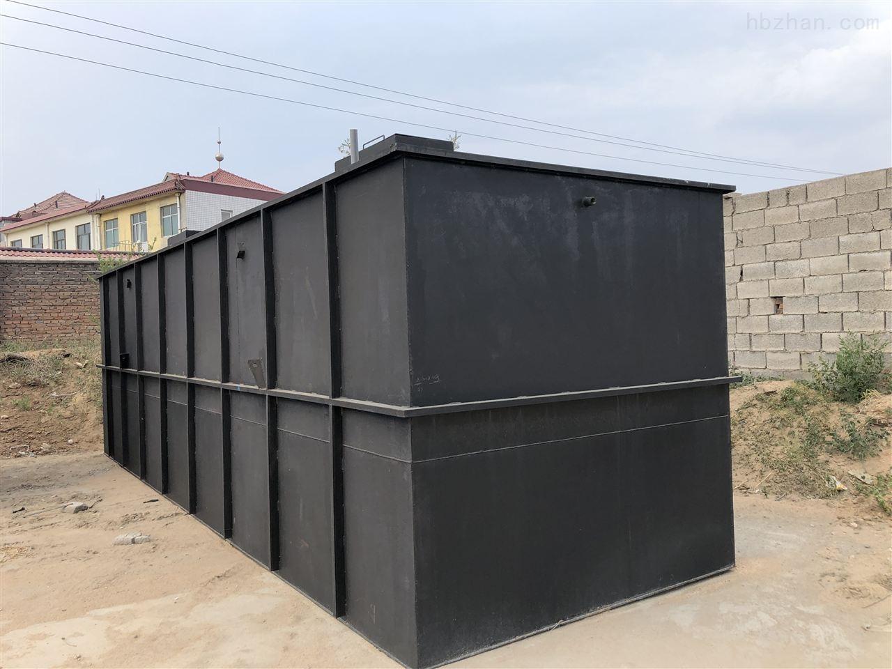 山东滨州公厕污水处理价格