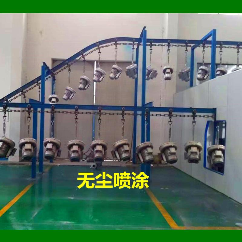 供应高压吸料 吸粮食 颗粒体输送鼓风机 7.5KW双叶轮旋涡高压风机示例图7