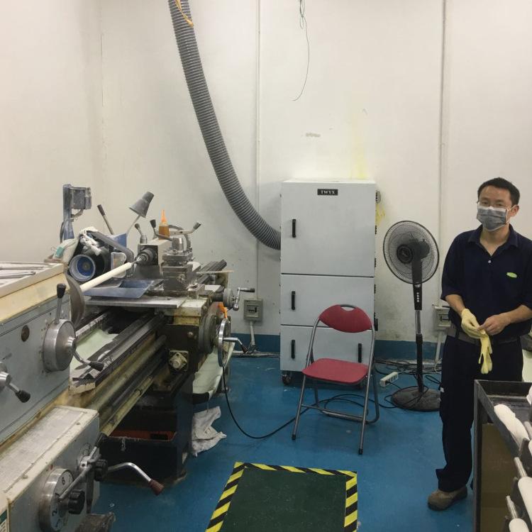 厂家磨床吸尘器  0.75kw磨床粉尘除尘器  JC-750-2砂轮机打磨集尘器   机床铝屑粉尘吸尘器移动式示例图11