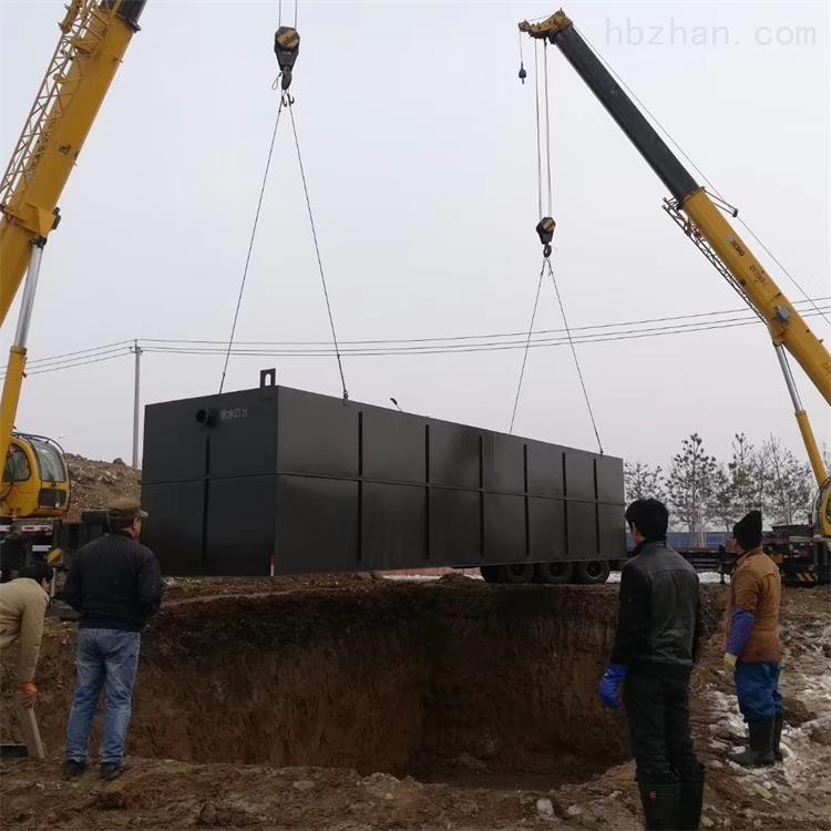 本溪口腔诊所污水处理设备安装说明