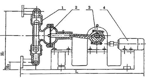 电动隔膜泵的结构图