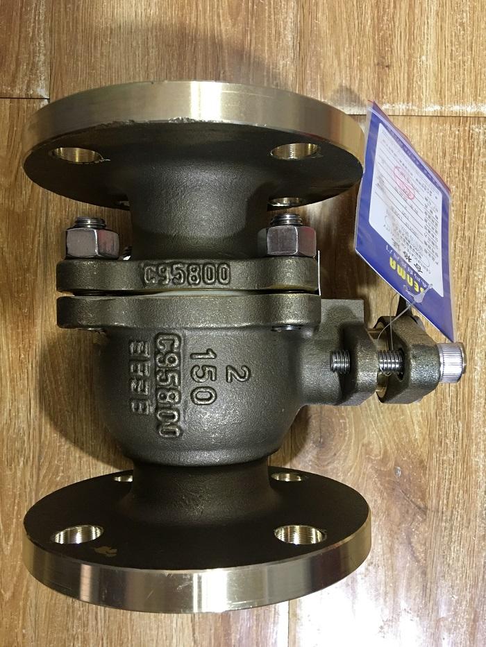 C95800镍铝青铜法兰球阀Q41F