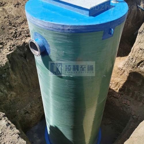 工业园一体化预制泵站GRP一体化提升泵站预制式一体化泵站