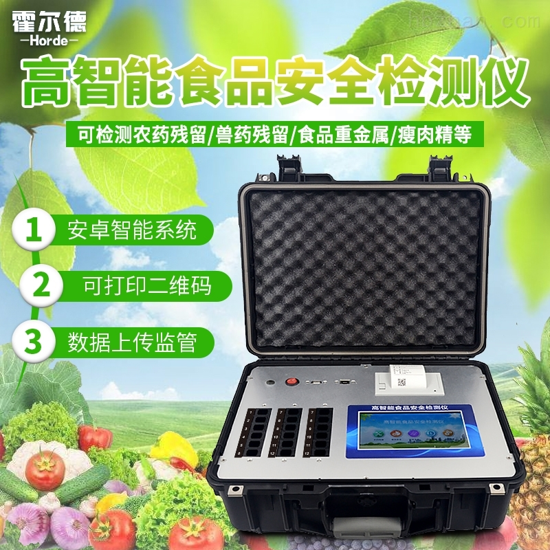 高智能食品安全检测仪