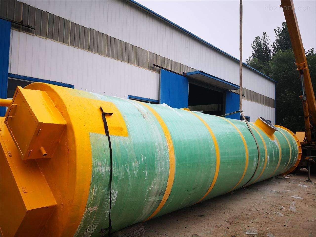 承德市小区一体化提升泵站日常维护