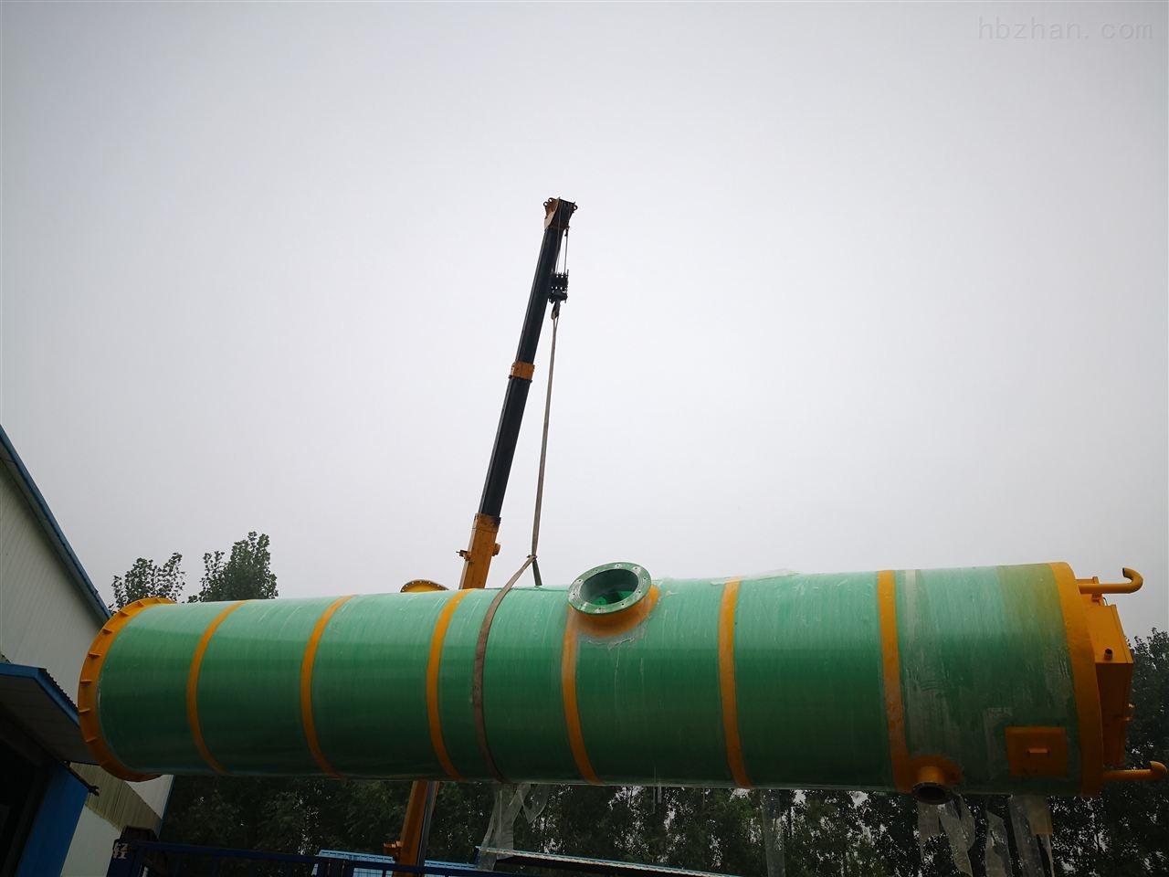 唐山市地埋式一体化提升泵站_服务为先