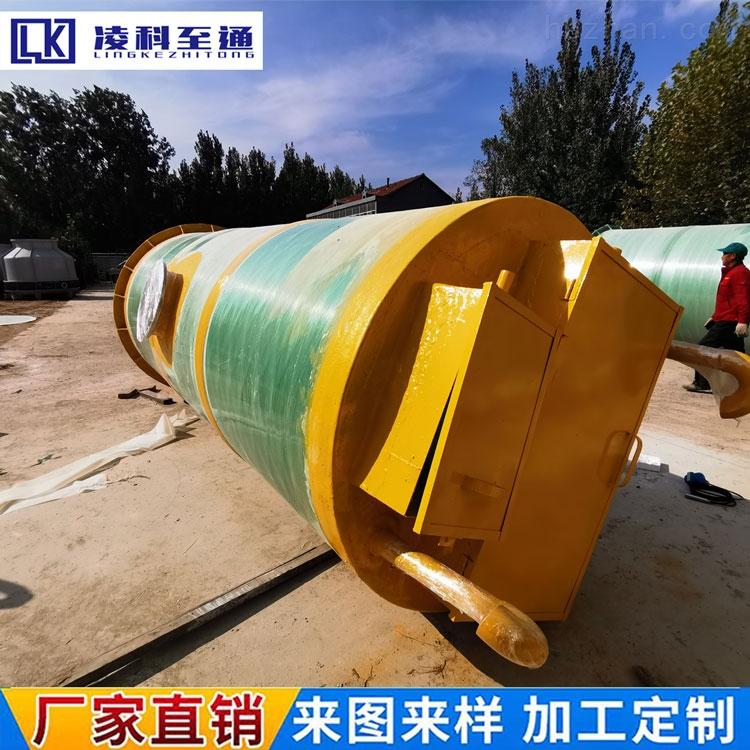 唐山市市政管网一体化预制泵站信誉保证