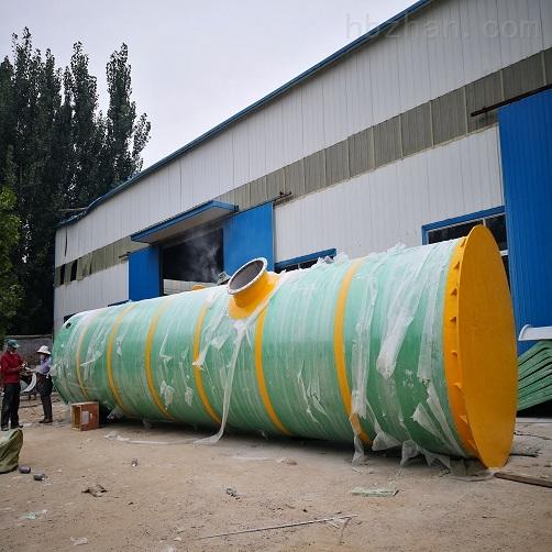 沧州市GRP一体化提升泵站达标排放