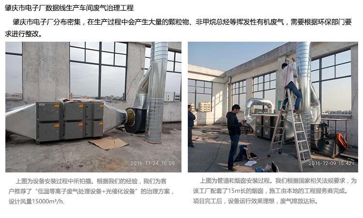 光催化有机废气净化器工程实例4