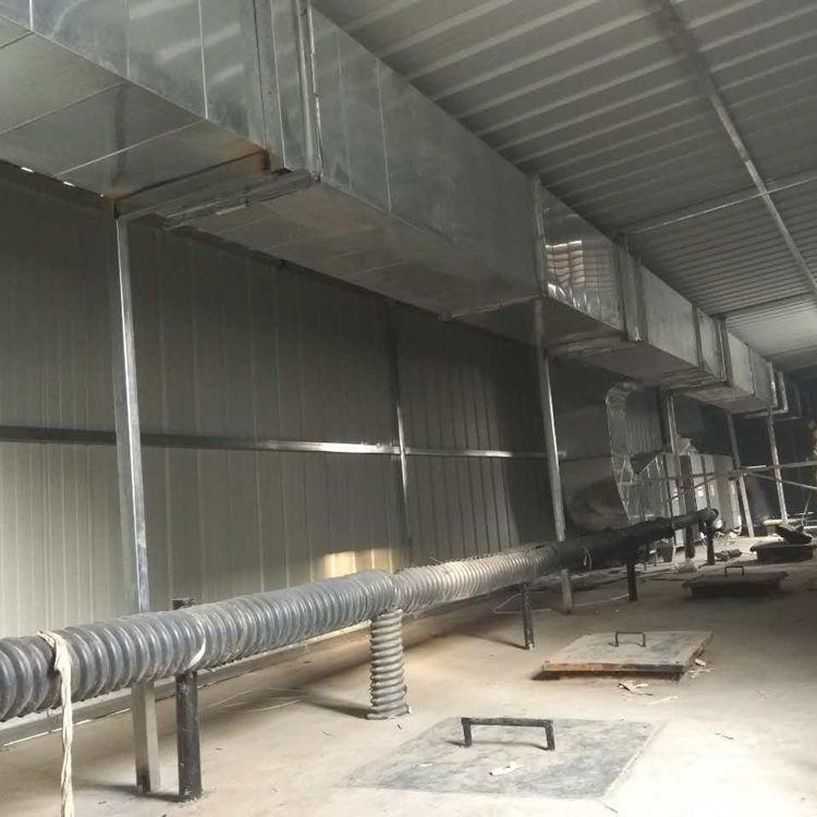 污水厂废气处理设备工程实拍图