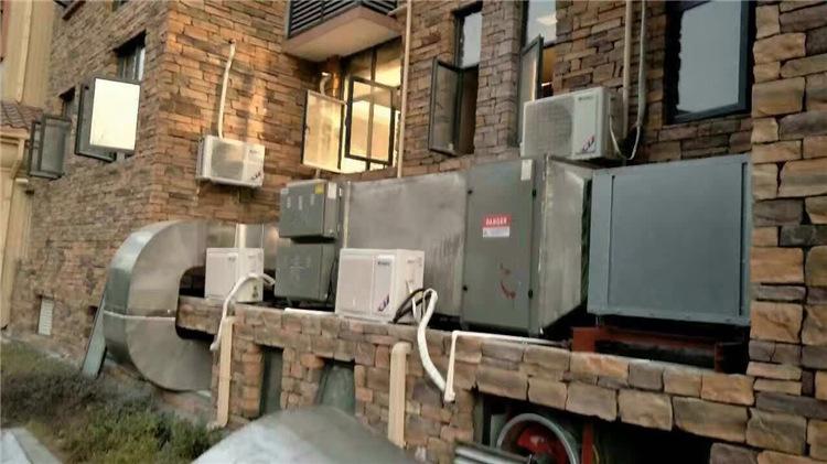 草木绿voc废气处理设备工程实拍图4