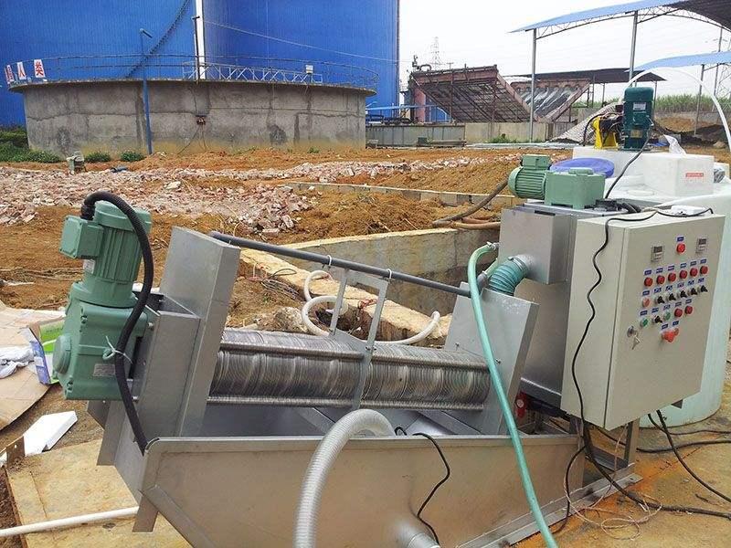 叠螺式污泥脱水机