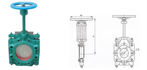 ZT9928薄型浆料闸阀图