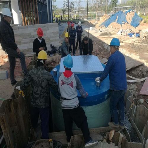 <strong>市政污水处理一体化污水提升泵站厂家</strong>