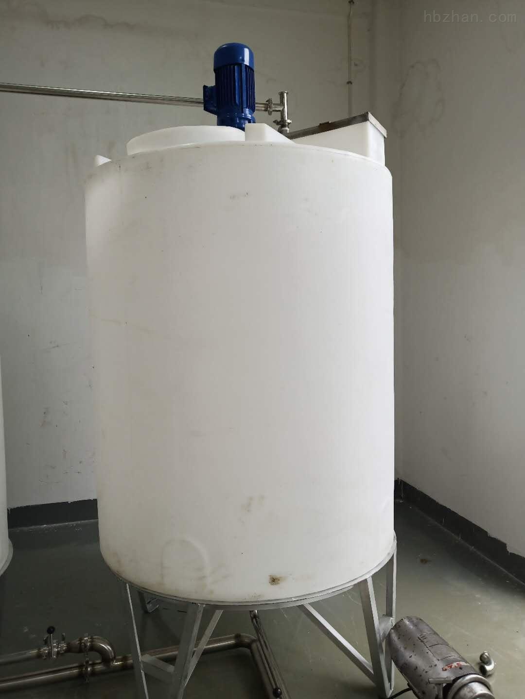 谦源2吨搅拌加药箱 液体储存桶
