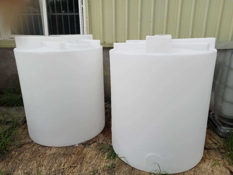 谦源2吨塑料加药箱 液碱搅拌桶
