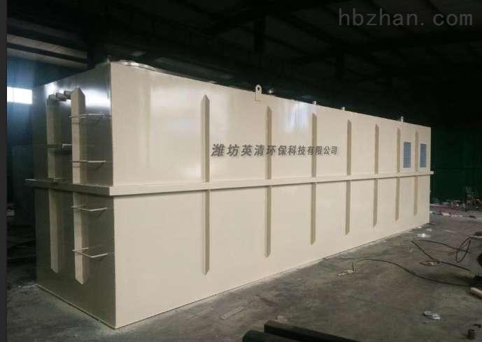 金昌污水一体化设备厂家价格