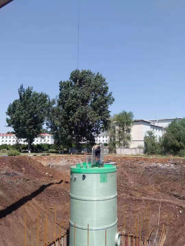 枣庄雨水提升泵站厂家报价