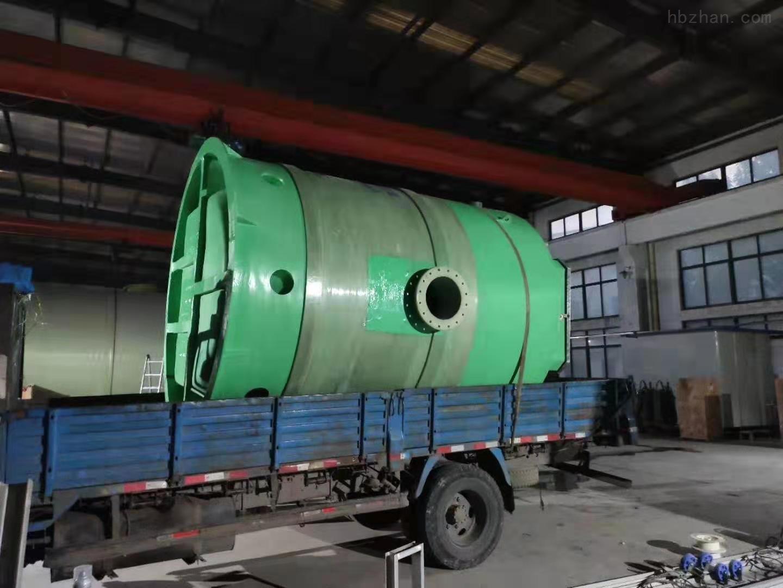 黄山一体化污水提升泵站厂家直销