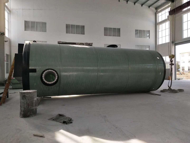 鹰潭GRP污水提升泵站报价