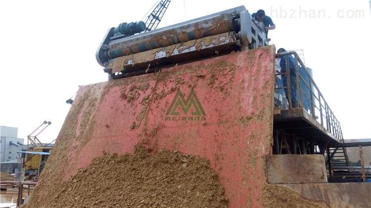 郴州石场泥浆脱水机环保