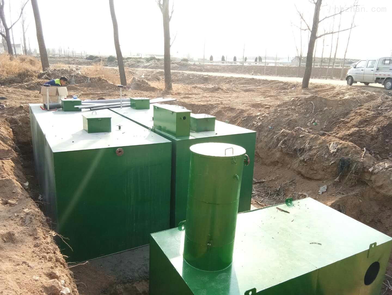 廊坊农村治理污水处理设备怎么选择
