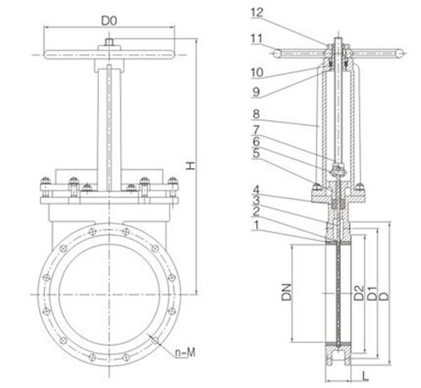 陶瓷刀闸阀图1