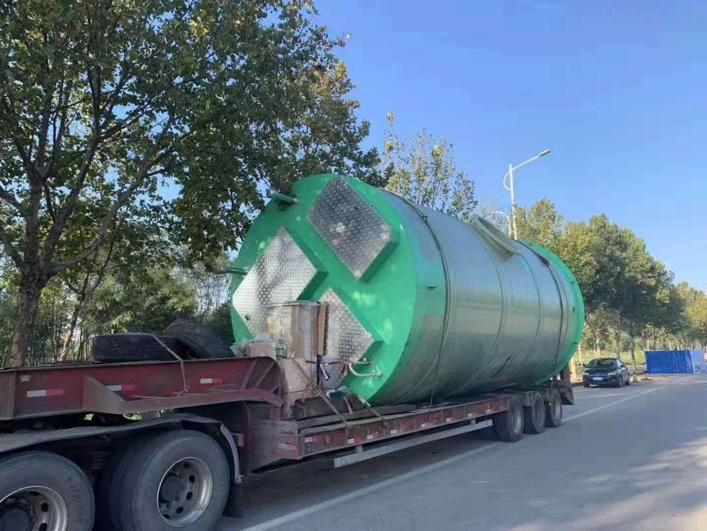 淄博雨水提升泵站厂家报价