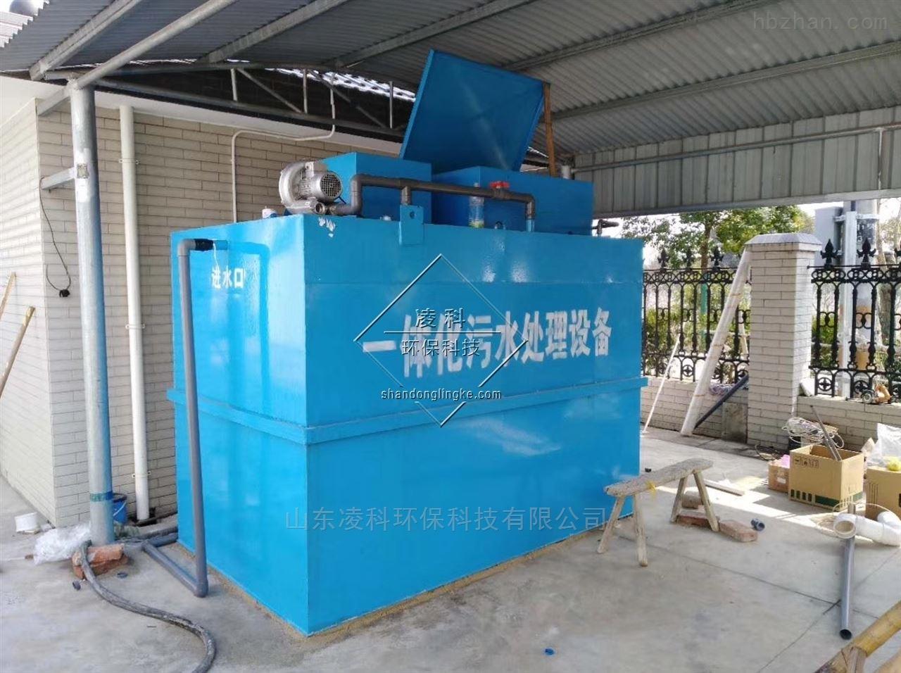 松原农村一体化预制泵站安装步骤