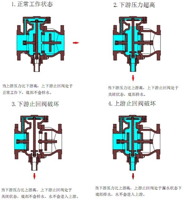 <strong>单膜片低阻力倒流防止器</strong>图1