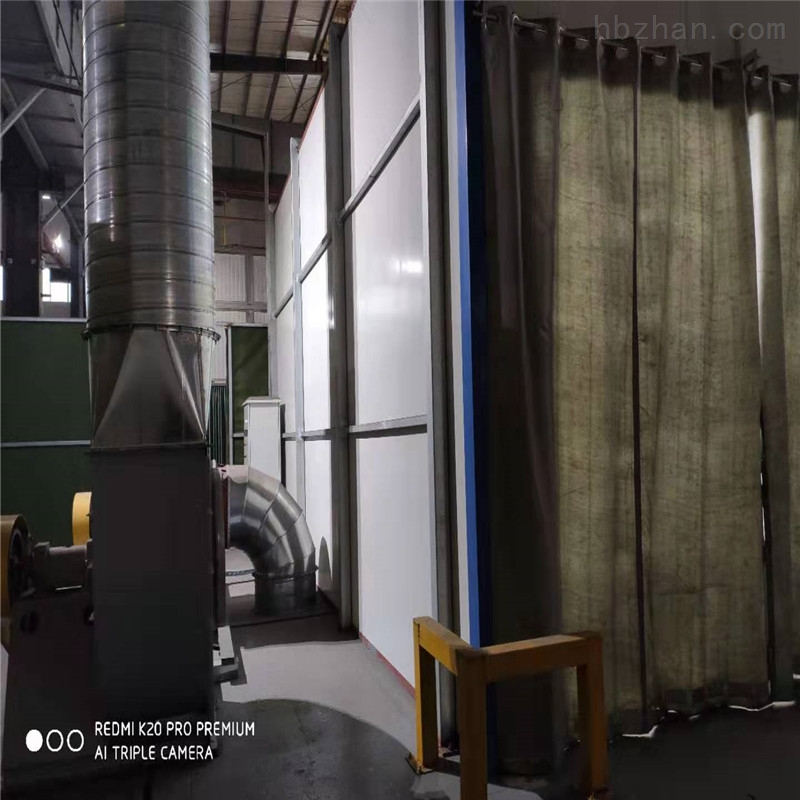 芜湖侧吸式喷漆房设备专业定制